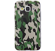 Camouflage Pattern Transparent TPU Material Phone Case for Samsung Galaxy J7/J5/J3/J2/J1/J1 Ace/G530/G850/G360