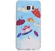 Für Samsung Galaxy Note Muster Hülle Rückseitenabdeckung Hülle Zeichentrick TPU Samsung Note 5 / Note 4 / Note 3