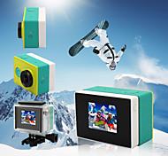GoPro-Zubehör Taschen / Batterie Für Xiaoyi blanco