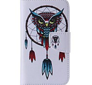 Owl Style Cell Phone Leather For Samsung Galaxy S5