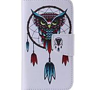 Eule-Art-Handy-Leder für Samsung Galaxy s5