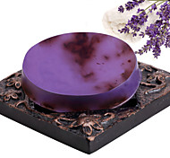 ALL BLUE High Quality Hot Style Natural Whitening Makeup Lavender Essential Oil Soaps  Facial Soap