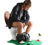 orinal juego de golf aseo putter mini golf fijó golf aseo putting green (1set)
