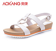 Aokang® Women's Leather Sandals - 132823158