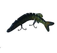 """1 pcs Señuelos duros / Cebos Señuelos duros Verde Oscuro 20 g/3/4 Onza,125 mm/4-3/4"""" pulgada,Plástico duro Pesca de Mar"""