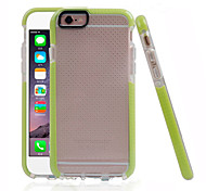 Tech 21 Case D3O Classic Check Case Impact Mesh Ball Marks TPU Case Anti-shock Back Shell Case for iPhone 6/6S 4.7""