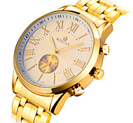 Men's Watch Gold Hollow Mechanical Waterproof Watch Wrist Watch Cool Watch Unique Watch