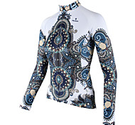 ilpaladinoSport Women Long sleeve Cycling Jersey New Style    CX601  White robes  100% Polyester