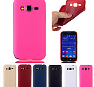Solid Color TPU Material Soft Thin Cell Phone Case for Samsung Galaxy Core Prime G360