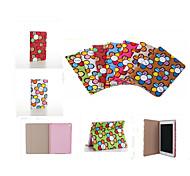 Brand Designer Korea Cute Sunflower Flip Ultra Slim Stand Leather Book Case Smart Cover For  iPad Mini 3/2/1