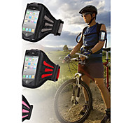 Gym Exercise Cover with Tune Belt Workout Running Sports Armband for iPhone 4/4S(Assorted Colors)