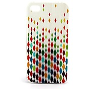 Diamond  Pattern TPU Soft Case for iPhone4/4S