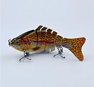 Hot 10 CM 15.5 Gram Live Like Swim Motion Segmented Fishing Lure Hard Body Fishing Tackle