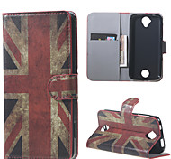 UK Flag Wallet Leather Stand Case for Acer Liquid Z320 Z330