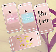MAYCARI®Loving You TPU Back Case for iPhone 6/iphone 6S(Assorted Colors)