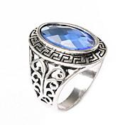 Green Onyx Ring Retro Bulgaria Jewelry