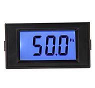10-199.9Hz Blue LCD Digital Frequency Panel Meter Gauge Cymometer