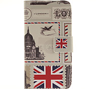 British Stamps Pattern PU Leather Full Body Cover with Stand for Samsung Galaxy J2/Galaxy J3
