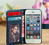 Fine Grain Leather Pu Leather Sheep Card. Stent. Holster For Iphone5s Mobile Phone Wallet