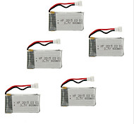 5PCS/LOT Batteries for Syma X5C Drone 3.7V 600MAH Battery Drone Accessory