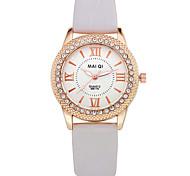 Fashion Casual Men's Leather Band Quartz Wristwatches Cool Watches Unique Watches