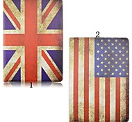 12.9 Inch Flag Pattern 360 Degree Rotation High Quality PU Leather Case for iPad Pro(Assorted Colors)