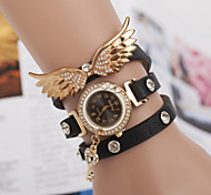 Woman Angel Wings Diamond Wrist Watch