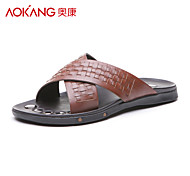 Aokang® Men's Leather Sandals - 121723027