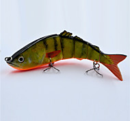 Hot 16 CM 38 G Hard Plastic Yellow Perch Swim Bait Life Like Fishing Lures for Fishing