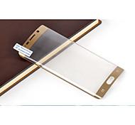 TPU 3D Full-screen Bending Proof Membrane For Samsung Galaxy S6 edge Plus (Golden)