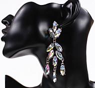Womens Fashion Rhinestone Retro Dangle Earring