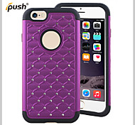 Bling Star Crystal Rhinestone Diamond Case Original Protector Back Cover for iPhone6(Assorted Colors)