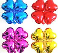 10 pc quattro foglie di trifogli palloncini decorazione festa di Natale