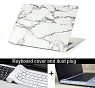"New 3 in 1  Marble Texture Case Cover+Keyboard Cover+ Dust Plug for Macbook Air 11""/13"""