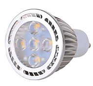 GU10 7W 5 x 3030 SMD 630 LM Warm White / Cool White High Bright LED Spot Lights AC 85-265 V