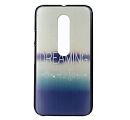 Dreaming Pattern PC Hard Cover Case for Motorola MOTO G3 3rd Gen