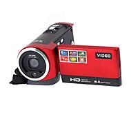 "16x ZOOM 16MP DVR 2.7"" TFT LCD Screen HD 720P Mini Digital Video Camcorder Camera Black/Red"