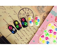 Beautiful Fluorescence Nail Art Stickers QJ01-04(4pcs)