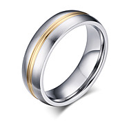 Z&X® Fashion  Personality Titanium Steel Ring Band Rings Party / Daily / Casual 1pc