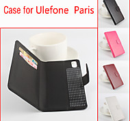 Flip Leather Magnetic Protective Case For Ulefone Paris(Assorted Colors)