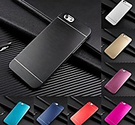 Metal Finish Hard Cover Case for iPhone 6 (7 Colors)