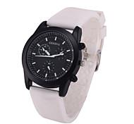 L.WEST Fashion Silicone Belt Quartz Watch Wrist Watch Cool Watch Unique Watch