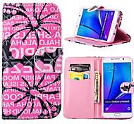 pu caso carteira de couro caso à prova de choque para Samsung Galaxy nota 3 / nota 4 / nota 5 / nota 5 borda