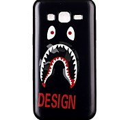 White Eye TPU Material Cell Phone Case for Samsung GALAXY G360/J1/J2/G5308/9082/