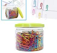 USLON® Colorful Paper Clips (Random Color)