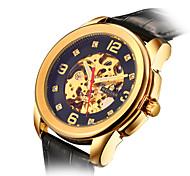 Men's Watch Waterproof Belt Hollow Digital Mechanical Watches
