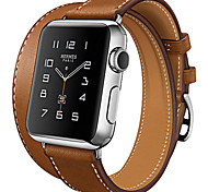 Hoco Fashion Cow Leather Classic Band with Metal Buckle Strap for Iwatch
