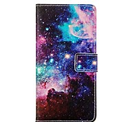 Pattern Card Stand Leather Case for Huawei P8/P8 Lite