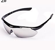 Sunglasses Men / Women / Unisex's Sports Hiking Black / White / Brown / Red / Blue / Gray Sunglasses Half-Rim