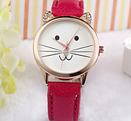 Cat Face Watch, Watch, Kitty Watch, Cat Lovers Watch, Love Cats, Cat Jewelry, Kitty Jewelry, Cat Lovers Gift